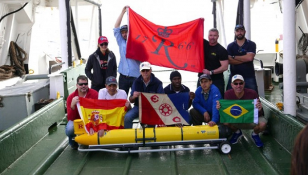 SITMA researcher participates in the first mission to circumnavigate the South Atlantic with gliders