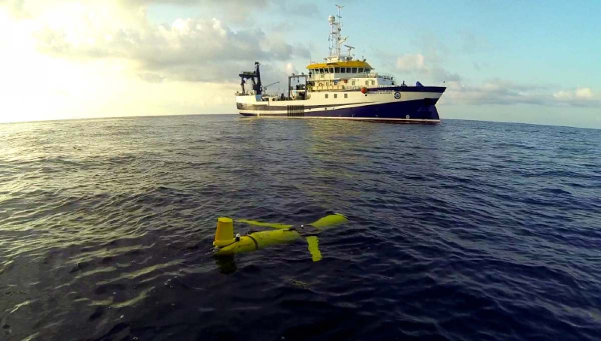 SITMA monitors the waters off the South coast of Gran Canaria with an autonomous underwater robot